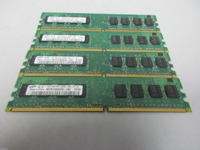 Kit memorie RAM  4Gb DDR2 800Mhz PC2-6400 compatibil cu  667Mhz PC2-5300