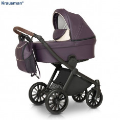 Krausman - Carucior 3 in 1 Rider Soft Purple