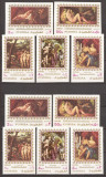 FUJEIRA 1972 PICTURA NUD ( serie dt. + ndt.) MNH