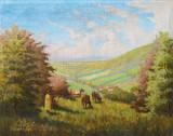 Tablou Kollerich Istvan, Natura statica, Ulei, Impresionism