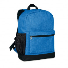 Rucsac anti-furt, 600D poliester, Everestus, RU19, albastru royal, saculet de calatorie si eticheta bagaj incluse