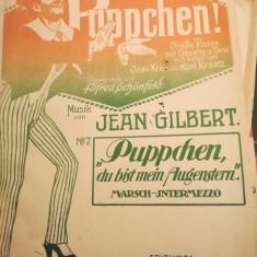 Puppchen, musik Jean Gilbert