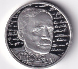 Romania 10 Lei 2020 (Tudor Arghezi)Argint 31.103g/999, 37mm,Proof KM-New UNC !!!