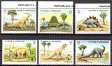 SAO TOME PRINCIPE 1982, Fauna Dinozauri, serie neuzata, MNH