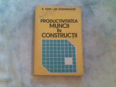 Productiviatea muncii in constructii-Conf.Enric Han,Conf.Stefan Gheorghita foto
