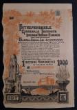 Actiune 1938 Intrep. tehnice Ing. Tiberiu Eremie , titlu , actiuni