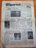 sportul 11 iunie 1984-ivan patzaichin la regata snagov la caiac canoe,euro 1984