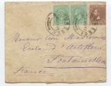 "1881-SCRISOARE ""M.S.REGELE CATRE LEON MAVROCORDAT ,RRRR+"