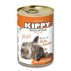 Pate Kippy cat, cu pui, 400g