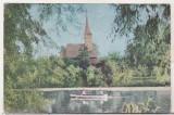 bnk cp Bucuresti - Vedere Parcul I V stalin - circulata - marca fixa