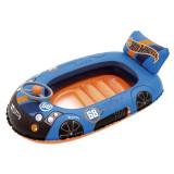 Barca gonflabila pentru copii, model Hot Wheels, 112×71 cm