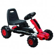 Kart cu pedale A Piccolino rosu