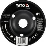 Disc circular depresat raspel pentru lemn 115x22.2 mm tip 1 YATO