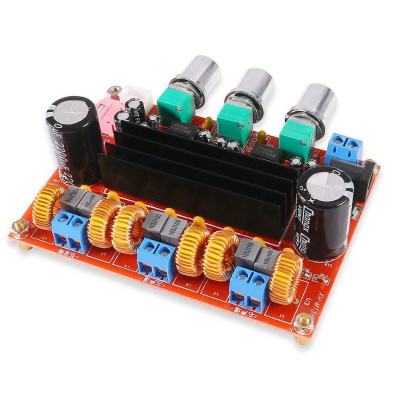 Amplificator audio 2.1 50Wx2+100W Subwoofer, TPA3116D2 foto