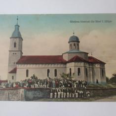 Cumpara ieftin Rara! Sfințirea bisericii din Săcel/Sibiu,carte postala necirculata anii 20