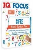 IQ Focus - Cifre - Nivel Junior Plus - Dezvolta puterea de concentrare logica si motricitatea fina/***, Gama