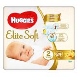Cumpara ieftin Scutece Huggies Elite Soft Convi, Nr 2, 4-6 kg, 24 buc