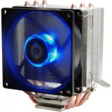 Cooler CPU ID-Cooling SE-903 Blue LED, Ventilator 92mm, Heatpipe-uri Cupru