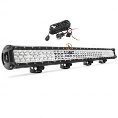 Set proiector auto led bar 92cm 234w + kit cabluri,releu si buton