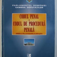 CODUL PENAL - CODUL DE PROCEDURA PENALA , redactor LUCICA PADUREANU , 1998