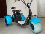 Scuter electric Harley pe 3 roți, albastru, Harley Davidson