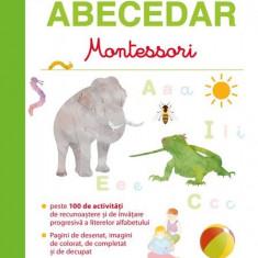 Primul meu abecedar Montessori - de la 3 la 6 ani