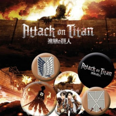 Insigna - Attack on Titan - mai multe modele | GB Eye