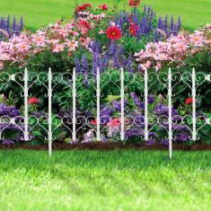 Bordura pt. pat de flori / gard - 61 x 30 - alb Best CarHome