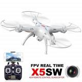 Drona Syma X5SW - Quadcopter 6 Axis WIFI-Aparat Foto FPV- 2 Baterie 500 Mha - 89
