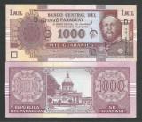 PARAGUAY  1000  1.000  GUARANIES  2005  UNC   [1]   P- 222 b ,  necirculata