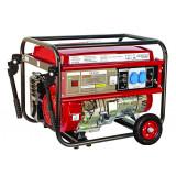 Generator pe benzina Raider RD-GG03, 5 kW, 389 CC, 6.7 CP, rezervor 25 l, voltmetru