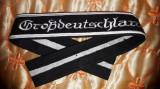 Brasarda de elita militara germana Wehrmacht  Grossdeutschland, WW2,airsoft