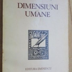 Dimensiuni umane- Dumitru Ghise