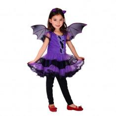Rochie/ Rochita Vampirina /liliac masura 120/ petreceri aniversare, 5-6 ani, Mov