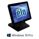 Sistem POS Touchscreen Refurbished ELO Touch 17B3, Core i3-3220, Win 10 Pro