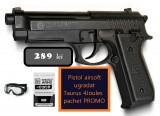 Pistol Taurus PT92 4Joules airsoft pachet PROMOTIONAL, CyberGun