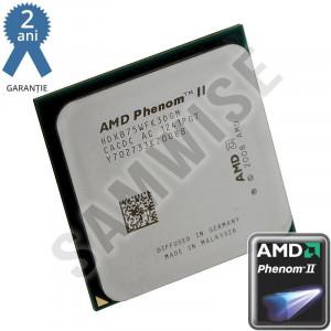 Procesor AMD Phenom II X3 B75, 3GHz, 3 Nuclee, Socket AM2+ AM3, 6MB Cache,...