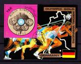 Yemen 1970 Sport, Olympics, perf.sheet, used AI.001, Stampilat