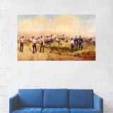 Tablou Canvas, Soldati pe Front - 20 x 35 cm