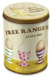 Cutie de depozitare metalica - Free Range Eggs