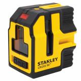 Nivela laser Stanley Cross90 + brat si sistem de prindere - STHT1-77341