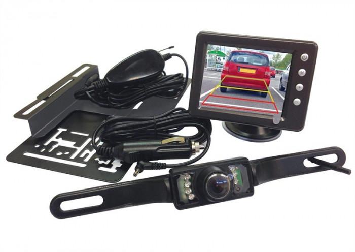 Camera video mers inapoi, parcare cu spatele, cu display wireless 3.5 inch Kft Auto