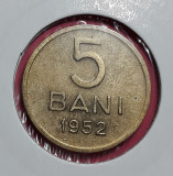 A5689 5 bani 1952 UNC