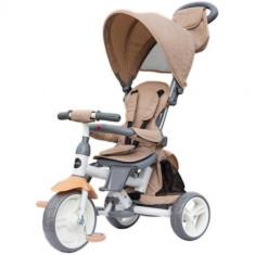 Tricicleta cu Sezut Reversibil Evo Bej, Colectia 2019