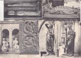 bnk cp Franta - lot 34 carti postale vechi - necirculate si uzate