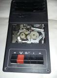 Ansamblu/fata/mecanism casetofon vechi,stare cum se vede/netestat,T.GRATUIT