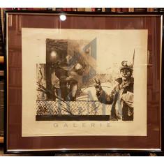 "TABLOU, MIHAI NEGULICI, "" CICLU MINERI ' , EX. 7/9, 1998"