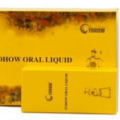 Fohow Oral Liquid Pheonix Cordyceps & Linchzhi – imunitate, digestie, adjuvant cancer, paleta larga de actiune