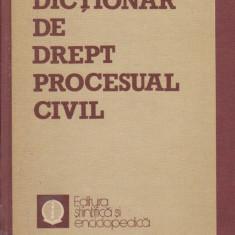 Dictionar de drept procesual civil