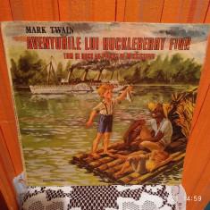 - Y- AVENTURILE LUI HUCKLEBERRY FINN- MARK TWAIN    - DISC VINIL - POVESTI